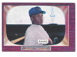 Ernie Banks, By Bowman [Public domain], via Wikimedia Commons