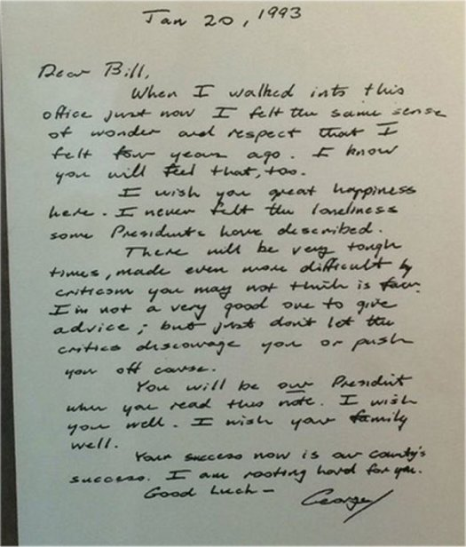 george-bush-letter-to-bill-clinton